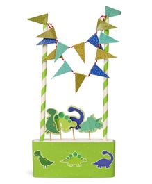 B Vishal Dinosaur Themed Cake Decorator Set (Color & Style May Vary)