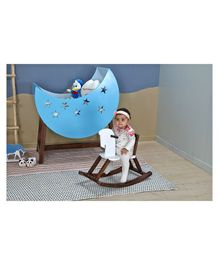 Arcedo Horse Shape Rocker - Brown