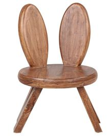 Arcedo Tom & Jerry Themed Wooden Jerry Chair - Brown