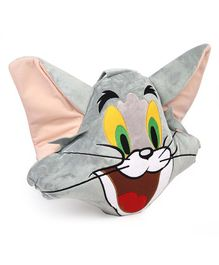 Tom & Jerry Plush Cushion - Grey