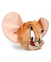 Tom & Jerry Plush Cushion - Brown