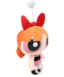 Disney Power Puff Girls Soft toy with Vacuum Suckers - Orange