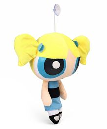Disney Power Puff Girls Soft toy with Vacuum Suckers - Blue