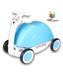 Toys Bhoomi 3 in 1 Manual Push Ride On - Blue