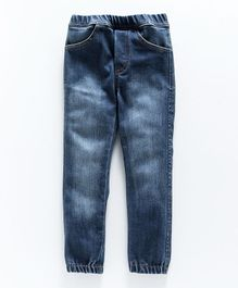 Nino Bambino Full Length Jeans - Dark Blue