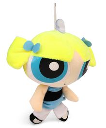 Power Puff Girls Plush Soft toy with Vacuum Suckers - Blue