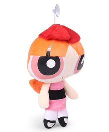 Power Puff Girls Blossom Plush Figure Pink & Orange - Height 30 cm