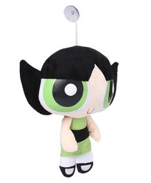 Power Puff Girls Buttercup Plush Figure Green & Black - Height 30 cm