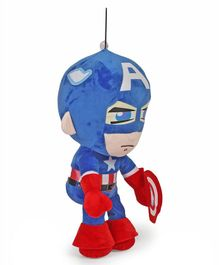 Avengers Captain America Plush Figure Red & Blue - Height 55 cm