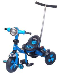 Funride DukeTricycle with Sipper Bell & Parenting Handle - Blue