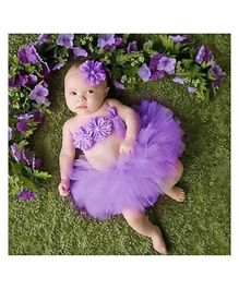 Babymoon Princess Tutu Outfit Pack of 3 - Purple