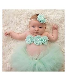 Babymoon Princess Tutu Outfit Pack of 3 - Light Green