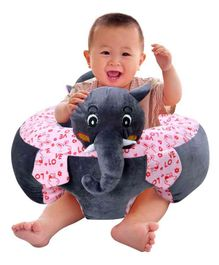Babymoon Baby Sofa Chair Plush Portable Protective Couch - Elephant