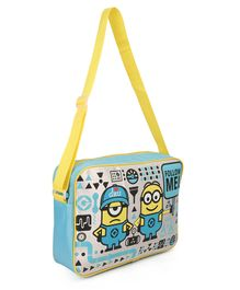 Minions Messenger Bag Blue & Yellow - 13.7 Inches