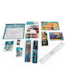Apsara School Stationery Set - Multicolour