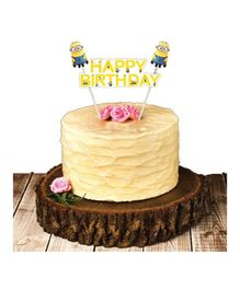 Party Propz Minions Cake Topper - Yellow