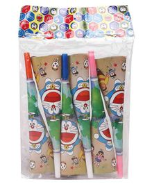 Doraemon Birthday Party Supplies, Invitation Cards, Banner