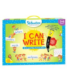 Skillmatics I Can Write & Wipe Activity Game - Multicolor