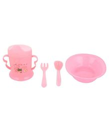 Home Union Feeding Set Pink - Pack of 4
