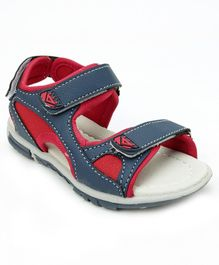 Cute Walk by Babyhug Floaters - Navy & Red