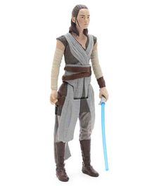 Star Wars Rey Jedi Training Figure Grey - Height 29 cm