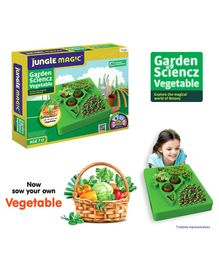 Jungle Magic Garden Sciencz Vegetables Kit - Multicolour