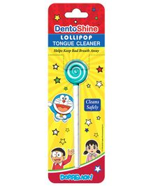 DentoShine Doraemon Lollipop Tongue Cleaner (Color May Vary)
