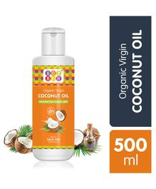Bey Bee Extra Virgin Organic Coconut Oil - 500 ml