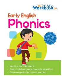 Read & Learn Phonics Book - English