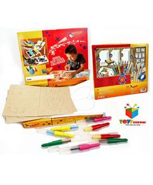 Toys Bhoomi Malinos Magic XL Color Blopens - Set of 15