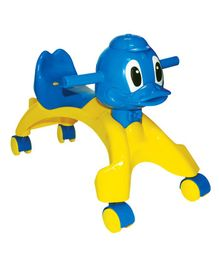 Playgro Duck Shaped Manual Push Ride On - (Colour May Vary)