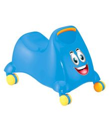 Playgro Twirly Whirly Manual Push Ride On - (Colour May Vary)