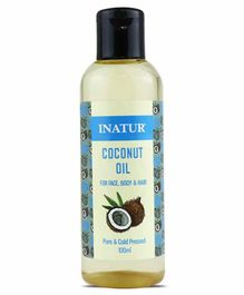 Inatur Herbals Coconut Skin & Hair Oil - 100 ml