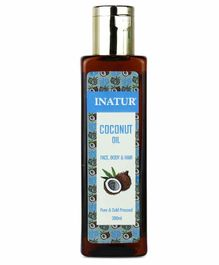 Inatur Herbals Coconut Skin & Hair Oil - 200 ml