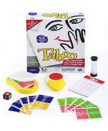 Yamama Tickles Taboo Game Of Unspeakable Board Game - White & Multi Colour
