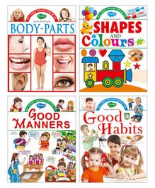 My First Board Books Set of 4 - English
