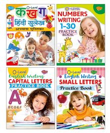 Writing Books Set of 4 - English & Hindi