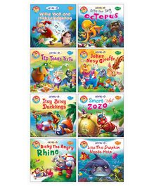 Story Books Pack of 8 - English