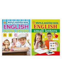 Capital & Small Letters Activity Work Books Set of 2 - English