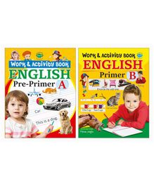 Writing Activity Work Books Set of 2 - English