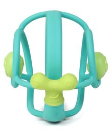 Mombella Snail Baby Teether - Blue
