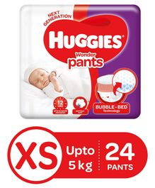 Huggies Wonder Pants Extra Small Pant Style Diapers - 24 Pieces