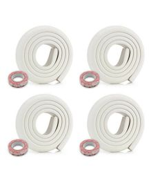 BabyPro Safety Edge Guard Roll Pack of 4 - White