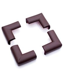 BabyPro Corner Guards Brown - 4 Pieces