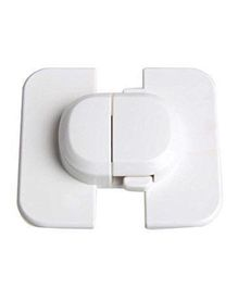 BabyPro Cabinet Locks Pack of 4 - White