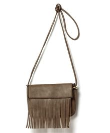 Little Hip Boutique Tassel Sling Bag - Light Brown