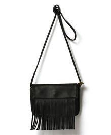 Little Hip Boutique Tassel Sling Bag - Black