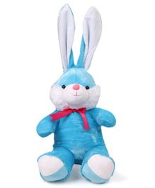 Benny & Bunny Rabbit Soft Toy Blue - Height 50 cm