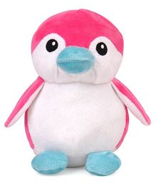 Benny & Bunny Penguin Soft Toy Pink - Height 19 cm