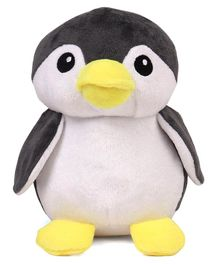 Benny & Bunny Penguin Soft Toy Grey - Height 19 cm
